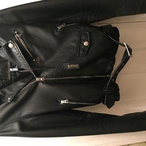 Buffalo David Bitton Jackets & Coats - Leather jacket